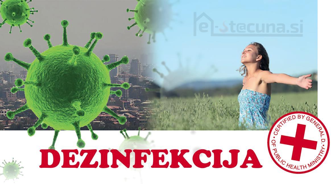 Dezinfekcija klima naprav z AIRNET in AIRPUR
