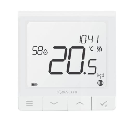 SALUS QUANTUM SQ610/SQ610RF - termostat s senzorjem vlažnosti